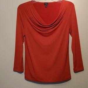 Raffaello long sleeve P blouse cowl